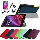 7in1 Ultra Slim Lightweight Case Stand Cover for ASUS MeMO Pad 7 ME176CX +Bundle