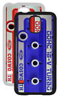Samsung Galaxy S5 case Cosworth rocker cover design RED or BLUE