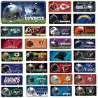 NFL Teams -  Metal License Plate Tag - Pick Your Team $10.99 USD on eBay