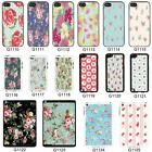 Vintage Floral Pattern cover case for Apple iPhone iPod & iPad No. 25