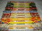 "Garden Incense Sticks 17"" TULASI Diff Fragrances Buy1-6 Boxes Pay Only 1 Postage"
