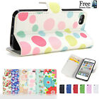 Wallet Flip Flower Pu Leather Case Cover for Apple iPhone 5S 5
