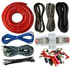 4 Gauge Amp Kit Amplifier Install Wiring Complete 4 Ga Installation Cables 2300W