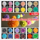 Tissue Paper 20cm Pompoms Pom Poms Party Wedding Home Decoration Baby Room