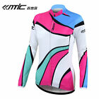 New Santic Women's Cycling Long Jersey Long Sleeve Liu nian Pink