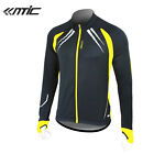 New Santic Fleece Thermal Long Jersey Winter Jacket Gabriel  Black Yellow
