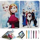 Cute Disney Cartoon Folio PU Leather Case Cover for 9.7 10 10.1 inch Tablet PC