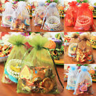 11x16cm 15x20cm ORGANZA WEDDING PARTY FAVOUR CHRISTMAS GIFTS CANDY BAGS POUCHES
