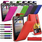 Huawei Ascend Y330 Stylish Funky Pull Tab Flip Wallet Hard Case Cover