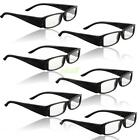 Reading Glasses With LED Light Assorted Magnifier Lightweight Unisex Eyeglass