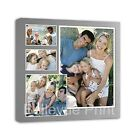Your Photo Collage Canvas Print- Personalised 20x20 inch on Box/Wrapped