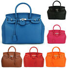 Hollywood Star Ladies Designer Handbag Satchels Boston Tote Bag Purse PU Leather