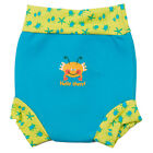 Splash About Re-Usable Swim Nappy Turquoise Bobbing Along