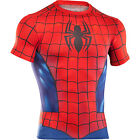 UNDER ARMOUR Alter Ego Spiderman Body Compression Baselayer Shirt