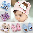 Baby Infant Boys Girls Bowknot Mickey Child Cotton Soft Waliking Shoes 3-Size