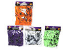 STRETCHABLE SPIDER'S WEB 12 SPIDERS HALLOWEEN COBWEB DECORATION PARTY SCENE NEW