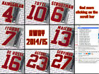 AS Roma 2014-15 away, Serie A official Stilscreen name set
