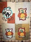 """HANDMADE QUILTED WALL HANGINGS""/Door Banners, Halloween, Falltime"