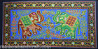 ethnic elephant sequin wall hanging folk tapestry india tribal art home decor