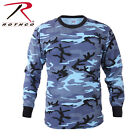 Long Sleeve T-Shirt Camo Tactical Military  Rothco