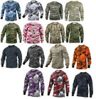 Long Sleeve T Shirt Camo Tactical Military Crew Tee Undershirt Rothco