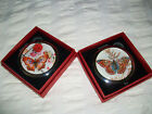 Compact- Double Sided Mirror BUTTERFLY  Beautiful Designs Size 7cm  New & Boxed