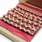 Mens  100%  Silk Long Scarf  Scarives Double Layered __ For Spring Autumn Winter