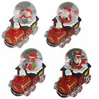 Christmas Decoration 45mm Mini TRAIN Snow Globe - 4 Designs to Choose