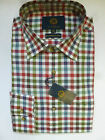Viyella Shirt -Cotton & Wool Red Green Blue Check