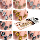 12 Selection Beautiful Nail Art Foil Stickers Foils Stickers Decoration New