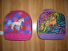 Girls White Horse Lunch Box~TCP~Soft Side Insulated~Hearts~NWT~CUTE~School~GREAT