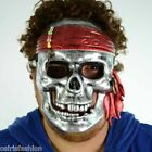 Face Mask Halloween Costume Fancy Stag Party Face Pirate Mask Silver