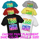 Внешний вид - CUSTOM T-SHIRT PRINTING FULL COLOR MEN WOMEN KIDS S M L XL 2XL 3XL 4XL 5XL 6XL