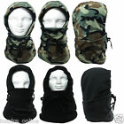 UNISEX FLEECE THERMAL MOTORCYCLE BIKE SKI BALACLAVA HOOD MASK HAT NECK WARMER