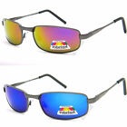 Mens Eyelevel UV400 Polarized Sunglasses Red Orange Blue Mirror Sports Fishing