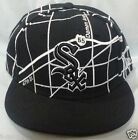 NEW ERA FITTED HATS CAP SOX COTTON MENS BRAND NEW BLACK - WHITE SELECT YOUR SIZE