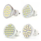 4 X GU10 27/48/60/24 SMD 3528 5050 LED Bulbs 5W Lamps Spot Lights Day Warm White