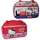Hello Kitty Double Zip Fashion Travel Bag - London or Pink Spots Design