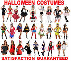 Halloween Fancy Dress Costumes Outfit Womans Ladies Party Adult New Girls Size