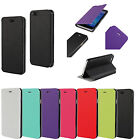 Luxury Flip Folio Magnetic Ultra-thin Leather Case Cover Stand For Smart Phones