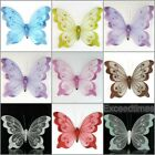 20cm Decorative Glitter Jewelled Clip on Butterfly Wedding Party Flowers Dec.