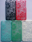 "CRYSTAL RUBBER COVER FLOWER LACE CASE for APPLE IPHONE 6 PLUS (5.5"")"