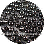 Pick Size / 100 Brass Beads, Fly Tying, Craft / Black Color