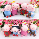 "6"" TY Beanie Kids Childrens Baby 0+ TV Star Cartoon Peppa Pig and George Pig Toy"
