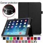 Corner Protection PU Leather Case Stand Cover for iPad Air 2 6th Gen Sleep/Awake