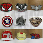 AWESOME SUPERHERO METAL BELT BUCKLE COLLECTION - CLIP ON TO ANY BELT MENS WOMENS