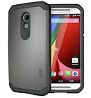 TUDIA Slim-Fit CYGEN Dual Layer Protective Case for Motorola Moto G 2nd Gen 2014