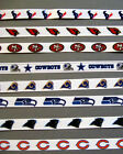"NFL TEAM Ribbons - 3/8"" Grosgrain - 3-Yard Lengths"