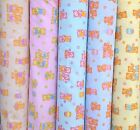Baby Nursery Teddy Cookie Jar Pink Blue Cream Yellow Mint PolyCotton Fabric