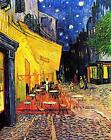 Vincent Van Gogh Cafe Terrace at Night Canvas Wall Art Poster Print Painting